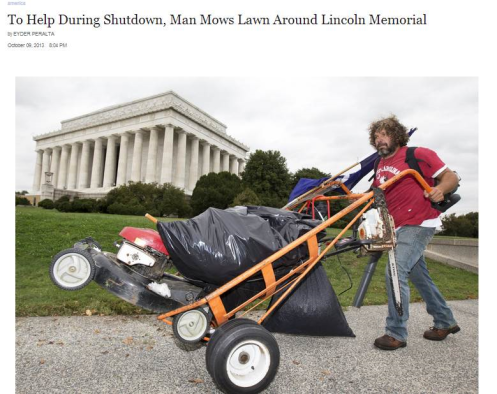 Lawn Mower Guy and Clean Air Act