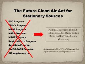 A Better Clean Air Act