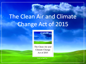 Clean Air and Climate Change Act of 2015