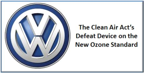 Volkswagen and Defeat Device on New Ozone Standard