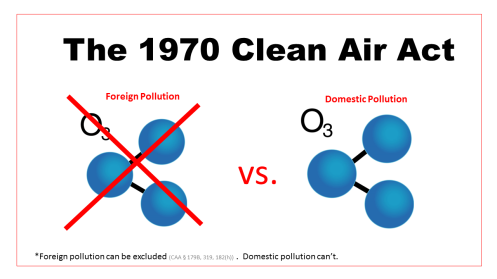 domestic vs. foreign pollution